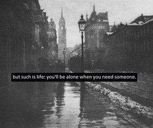 quote, life, and black and white image