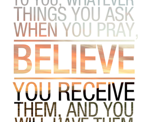 believe, bible, and god image
