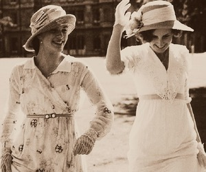 downton abbey, jessica brown findlay, and laura carmichael image