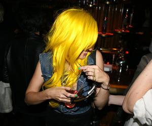 girl, hair, and yellow hair image