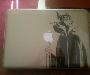 disney, macbook, and sticker image