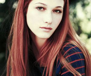 nicole fox, hair, and red image