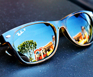color, raybans, and swag image
