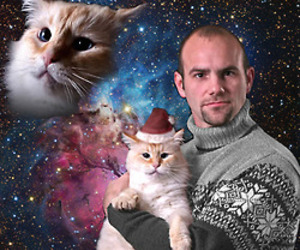 awkward, space, and spacecat image