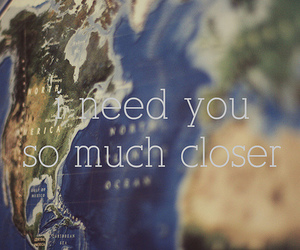 distance, love, and closer image