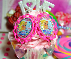 barbie, pink, and sweet image
