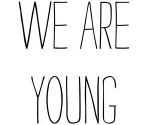 young, quote, and text image