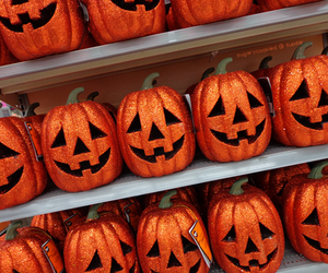 Halloween, spooky, and pumpkin patch image