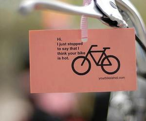 bicicle, be polite, and bike image