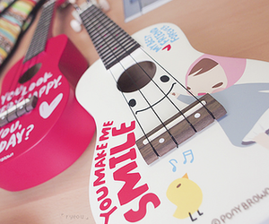 guitar, cute, and photography image