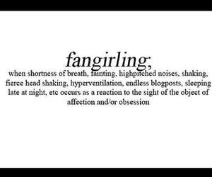 fangirl and fangirling image