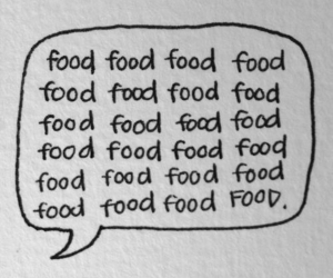 food, quote, and text image