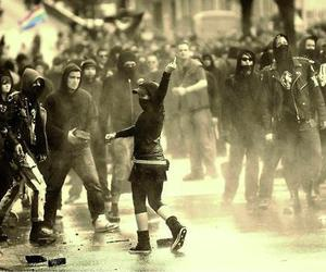 activists, anarchy, and freedom image