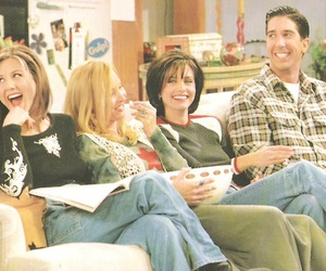 friends, monica geller, and ross geller image