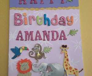 animals, birthday, and girl image