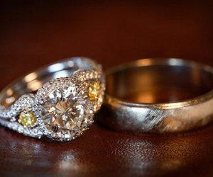 beautiful, e, and rings image