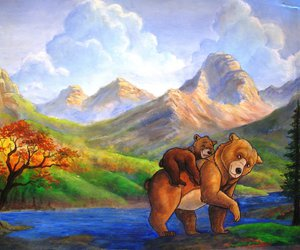 bear, brothers, and disney image