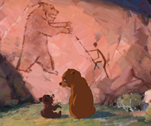 bear, brothers, and movie image