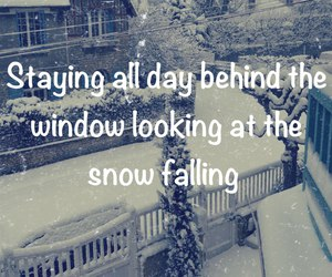 snow, winter, and quote image