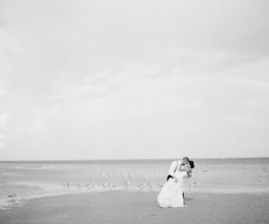 black and white, couple, and Dream image