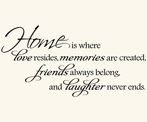 friends, home, and memories image