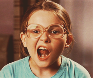 girl, little miss sunshine, and glasses image