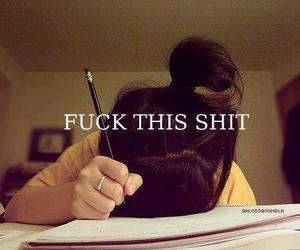 exam, fuck, and girl image
