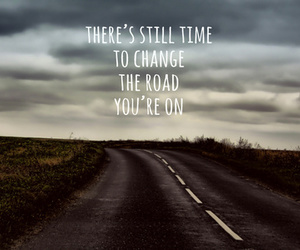 quote, photography, and road image