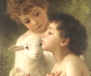 angel, child, and french art image