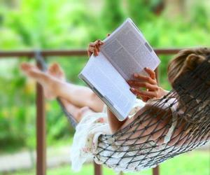 reading and relaxing image