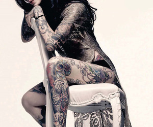 kat von d, tattoo, and Cherokee image