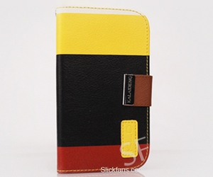 color, lovely, and galaxy s3 leather case image