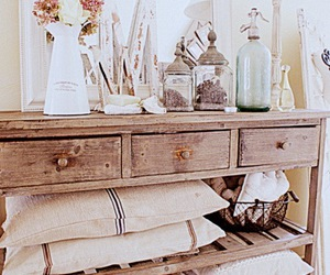 decor, shabby chic, and vintage image