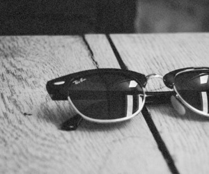 sunglasses, ray ban, and glasses image