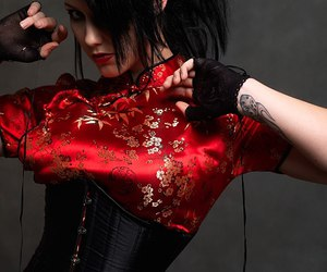 fashion and gothic image