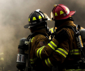 beautiful, photography, and firefighter image