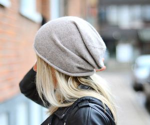 fashion, blonde, and hat image