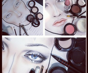 fashion and make up image