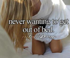 bed, sleep, and just girly things image