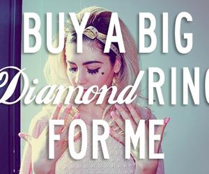 marina and the diamonds, diamond, and quotes image