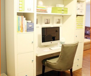 furniture, decorating ideas, and home office image