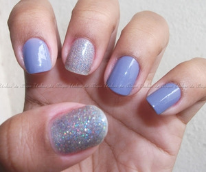 nail art, ellen gold, and homa manicure image