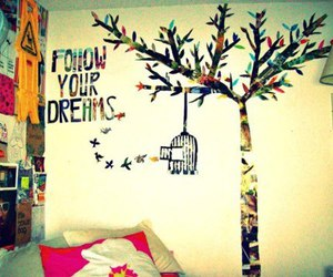 dreams, girl, and follow image