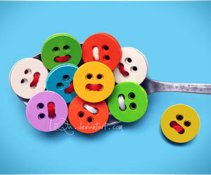 buttons, photography, and smile image