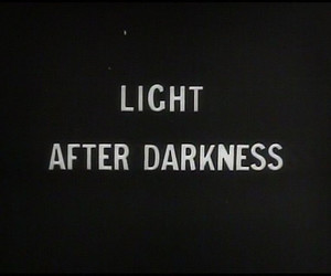 light, Darkness, and text image