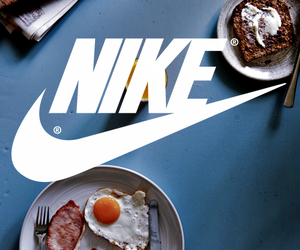 nike, food, and wallpaper image