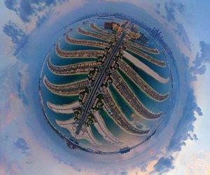 aerial view, Dubai, and ballin image