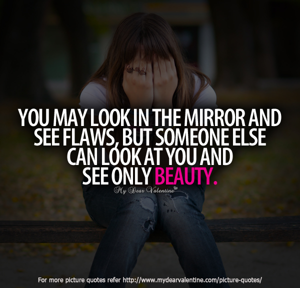 Girl Looking In The Mirror Quotes Codechaoss
