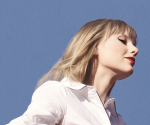 blonde, sky, and Taylor Swift image