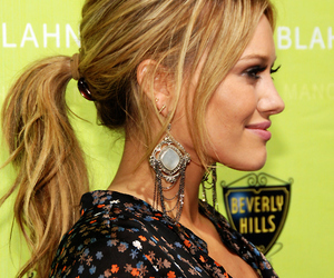hair and Hilary Duff image